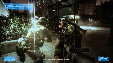 Battlefield 3 - Misión 5 Operación Guillotina - Español - Walkthrough HD