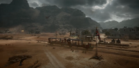 Sinai Desert Conquest Train Station Pre-Alpha