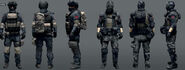 Battlefield4 character enemy concepts
