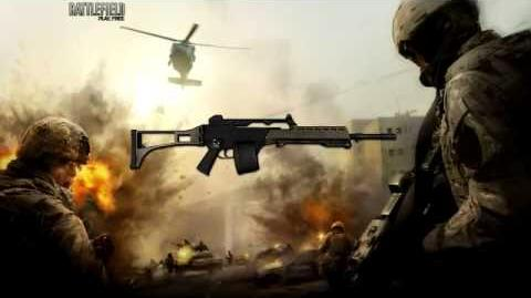 Battlefield Play4Free - MG36 Sound