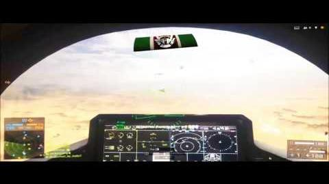 Battlefield 4 F-35 flight and combat demonstration