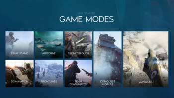 Battlefield V Multiplayer Gamemodes