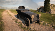 BF1 Romfell Armored Car Front