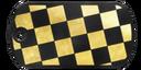 BF4 Premium Checkerboard Dog Tag