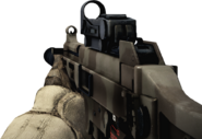 BFBC2 UMP-45 SA Red Dot Sight