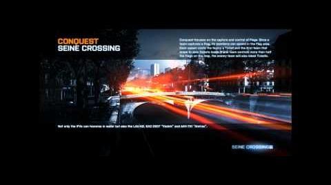 Battlefield 3 Seine Crossing Loading Screen