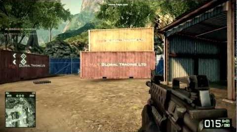 Battlefield Bad Company 2 - M16A2