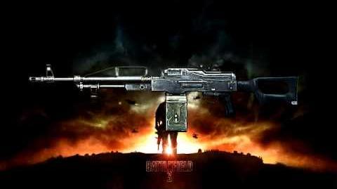 Battlefield 3 - PKP Pecheneg Sound