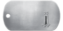 Rank 75 Dog Tag