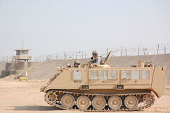 800px-USAF M113 APC at Camp Bucca, Iraq