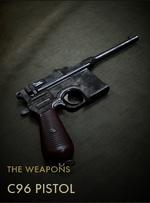 C96 Pistol Codex Entry
