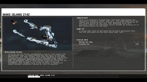 Battlefield 2142 - Wake Island loading screen ULTRA HD