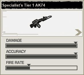 AK74 Tier1 BFH Stats