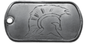 BF4 This Isn't Sparta Dog Tag