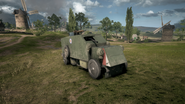 BF1 Artillery Truck AA Front
