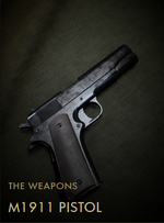 M1911 Pistol Codex Entry