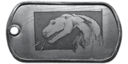 BF4 T-Rex Dog Tag
