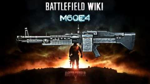 Battlefield 3 - M60E4 Sound