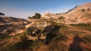 BF5 Kubelwagen Desert Front