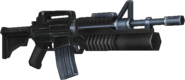 BFH M16-203 Battle Rifle Render 1