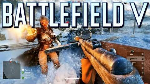 Battlefield 5 Multiplayer Gameplay on Grand Operations