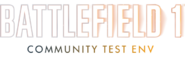 Battlefield 1 Community Test Environment Logo