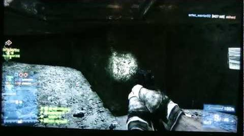 Battlefield 3 - easter egg - vanishing text on Wake Island 2014