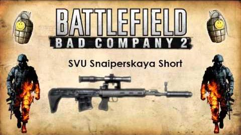 Battlefield Bad Company 2 - Sniper Rifle Sounds