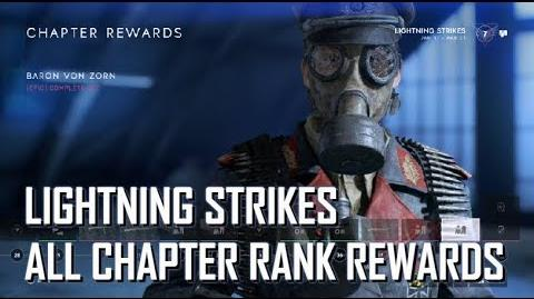 All Chapter Rank Rewards - Battlefield V Lightning Strikes
