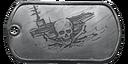 BF4 Carrier Assault Medal Dog Tag
