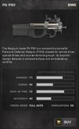 BFP4F FN P90 Stats