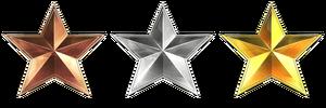 BFHL Service Stars