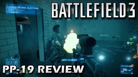 Battlefield 3 PP-19 Weapon Review - Back to Karkand