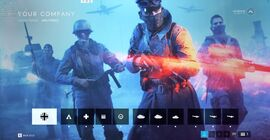 BFV The Company Menu