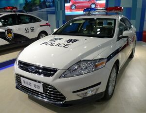 Ford mondeo china police