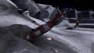 Lunar Landing V2 Rockets