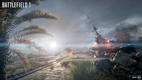 Battlefield 1 Frontlines Mode Comes to Suez Map