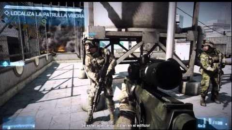 Battlefield 3 - Campaña Misión 1 Operación Swordbreaker