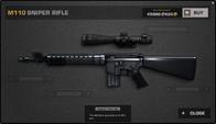 BFP4F M110 Sniper Rifle Render