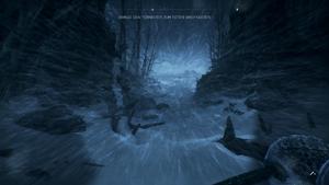 Nordlys - Solveig kämpft sich durch einen Schneesturm