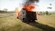 BF1 A7V Destroyed Front