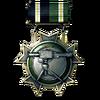 BF3 Stationery Service Medal
