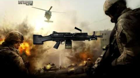 Battlefield Play4Free - M249 Sound