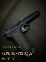 Repetierpistole M1912 Codex Entry