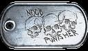 BF3 Noob Punisher Dog Tag