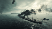 BF1 L-Class Destroyer Back