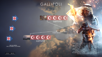 Battlefield 1 Operations Gallipoli Maps