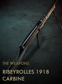 Ribeyrolles 1918 Carbine Codex Entry New