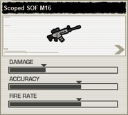 BFH Scoped SOF M16 Stats