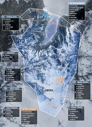 Alborz Mountains Conquest 64 Map